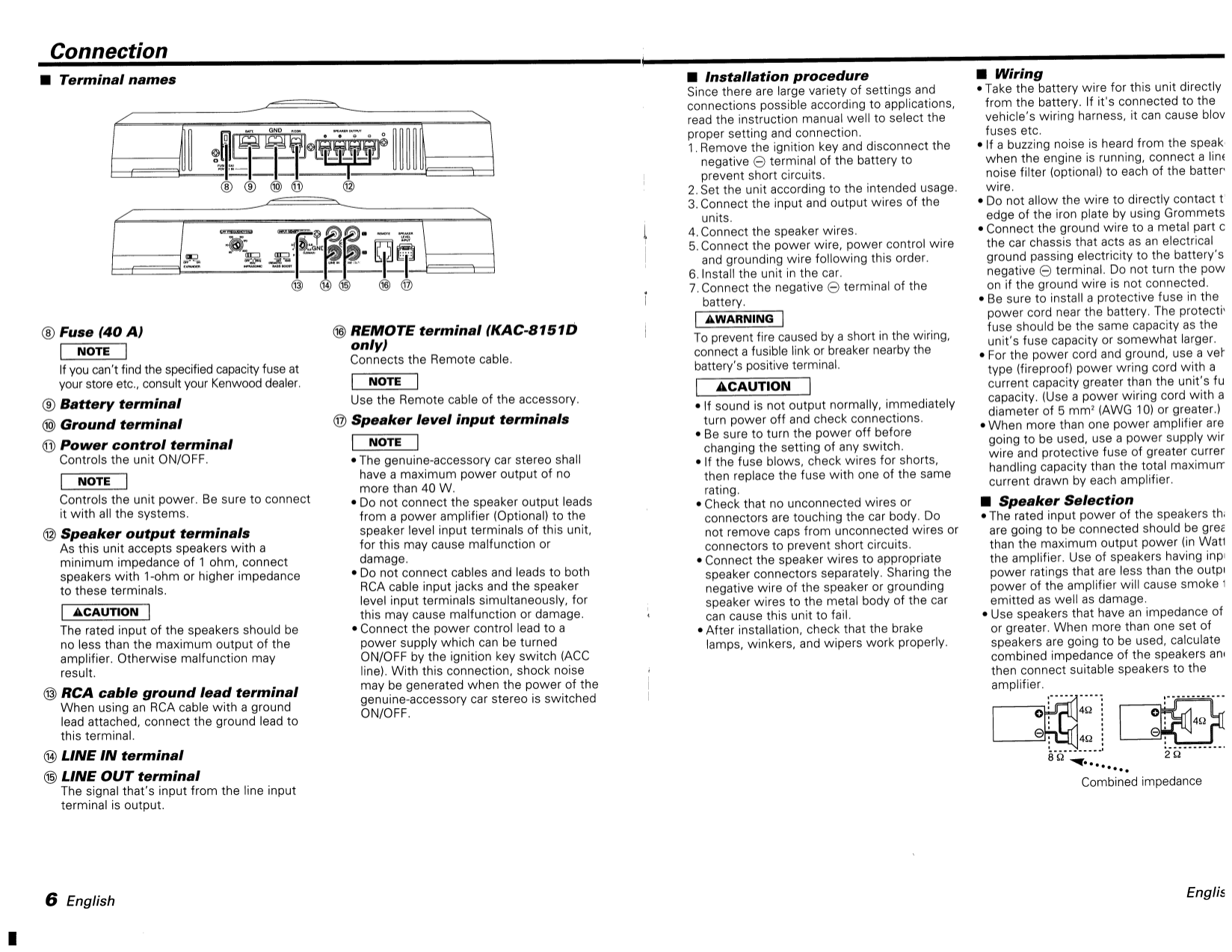 113kac8151.pdf 5 pdf manual for kenwood car amplifier kac 8101d kenwood kac 8101d wiring diagram at panicattacktreatment.co