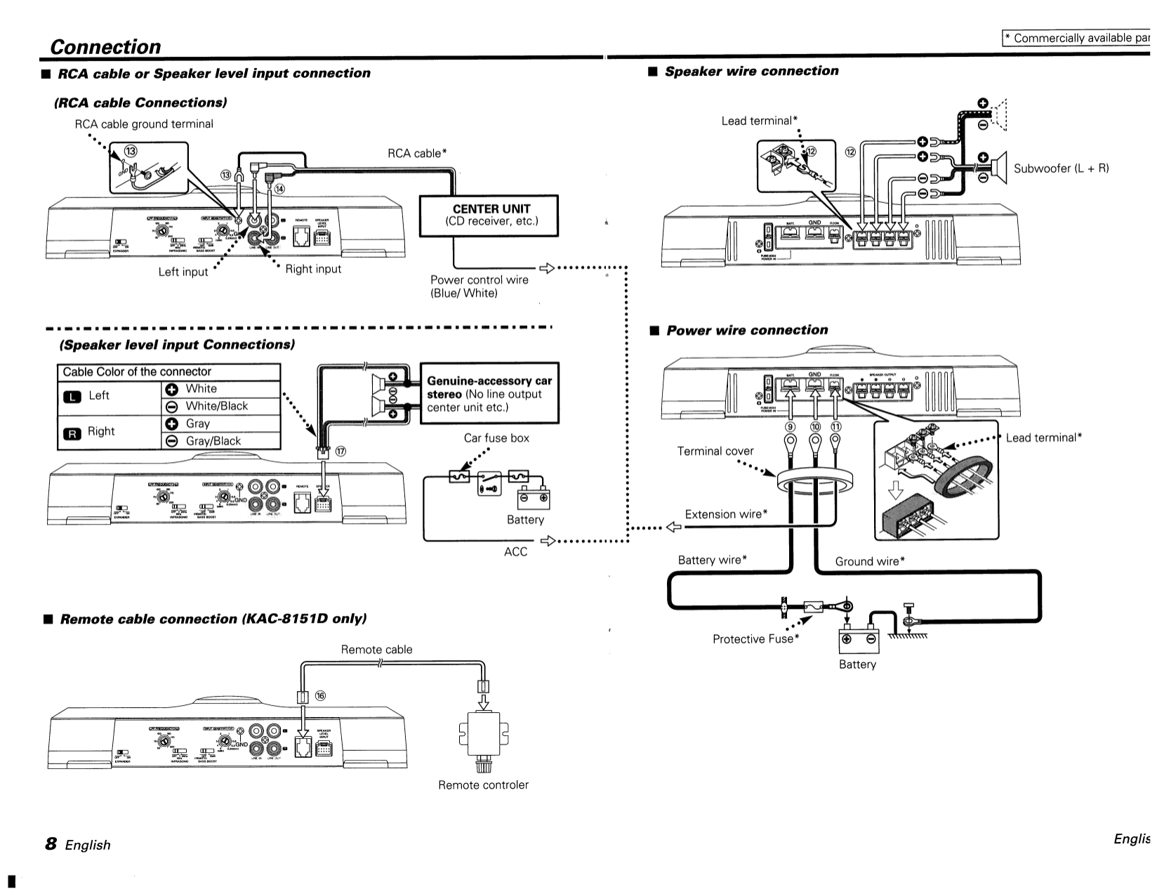 113kac8151.pdf 7 kenwood kac 8101d wiring diagram 32 wiring diagram images wiring