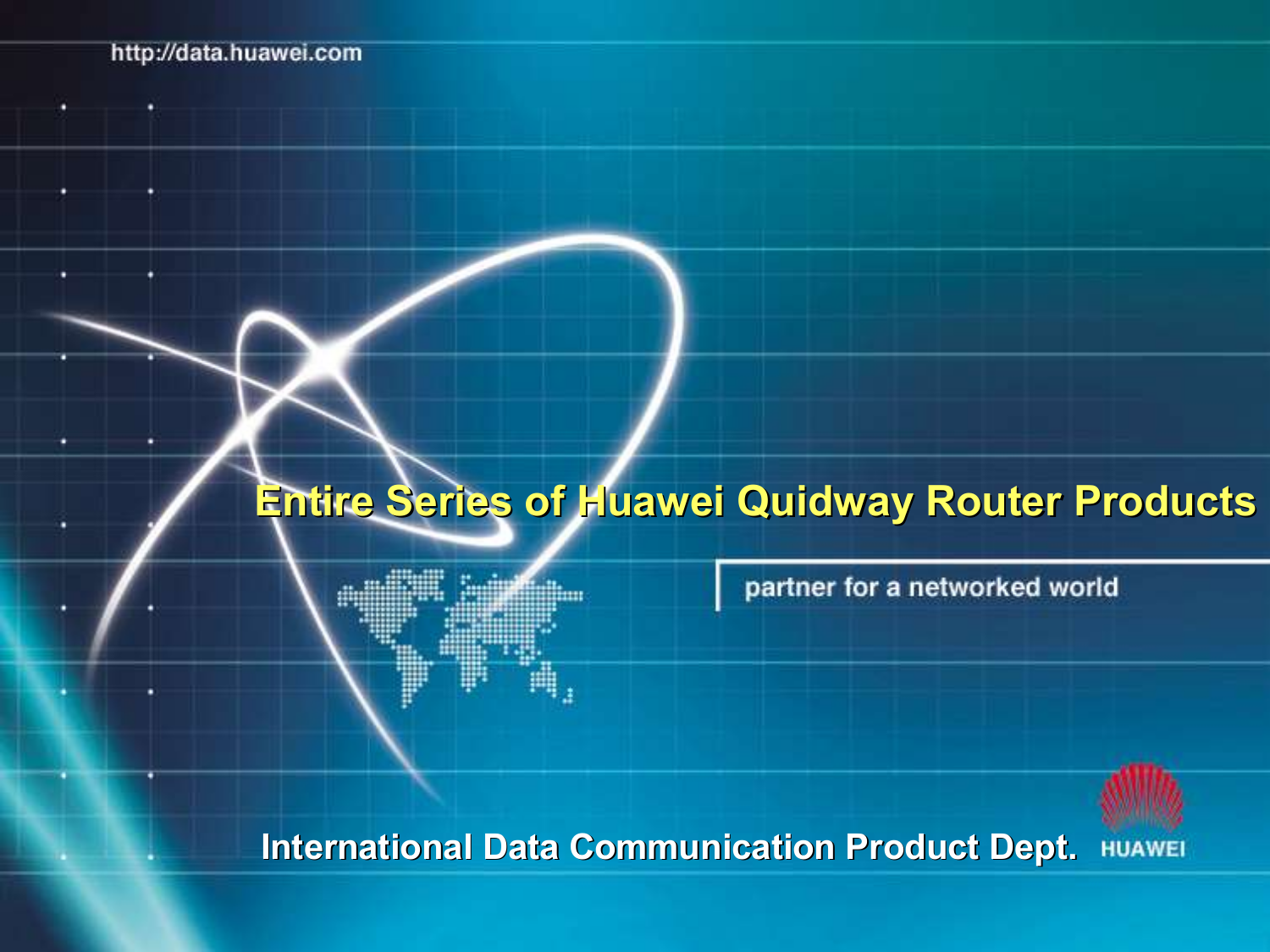 Download free pdf for Huawei Quidway S6506 Switch manual