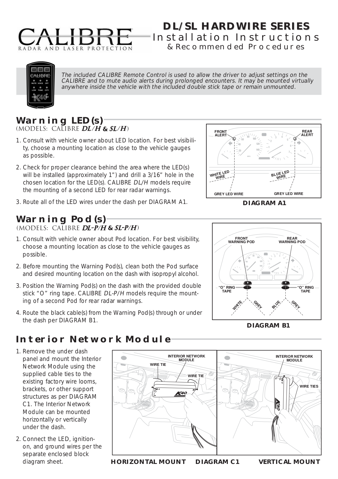 K40 Radar Detector Wiring Diagram And Schematics Free Picture Schematic Pdf For Calibre Sl Manual