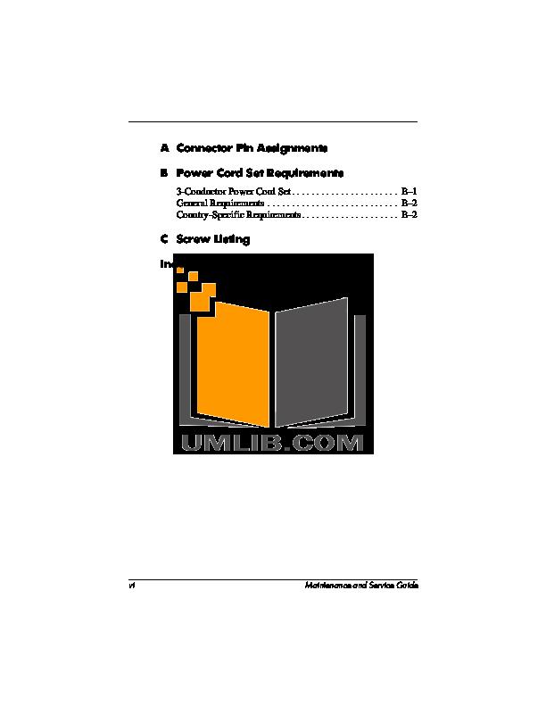 Pdf Manual For Hp Laptop Compaq Presario Presario X1028