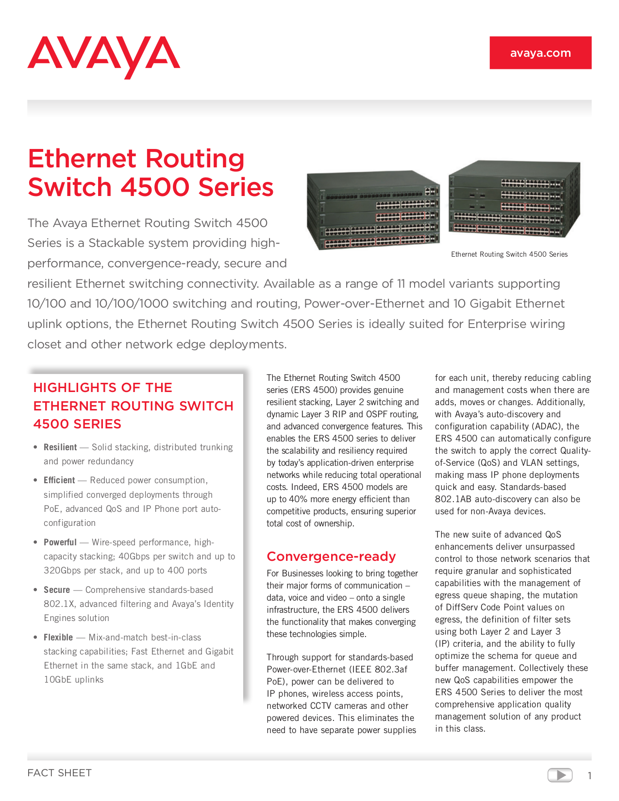pdf for Nortel Switch 4526FX manual