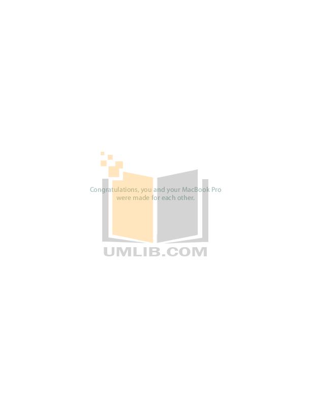 Free download macbook pro user guide manual