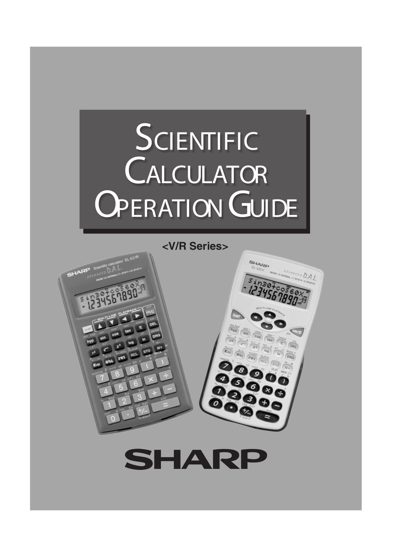 download free pdf for sharp el 506w calculator manual rh umlib com Sharp EL 1197Piii Calculator Ribbon Parts for Sharp Calculator EL 1197 III