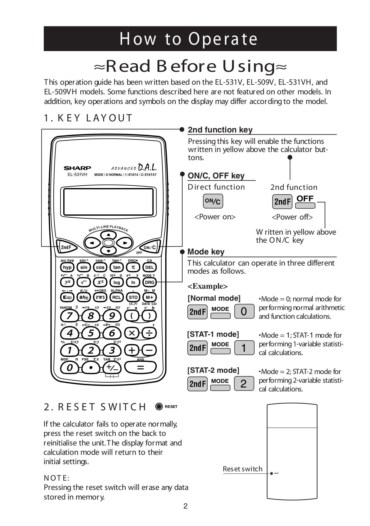 pdf manual for sharp calculator el 506w rh umlib com sharp el-506w user manual sharp scientific calculator el-506w manual