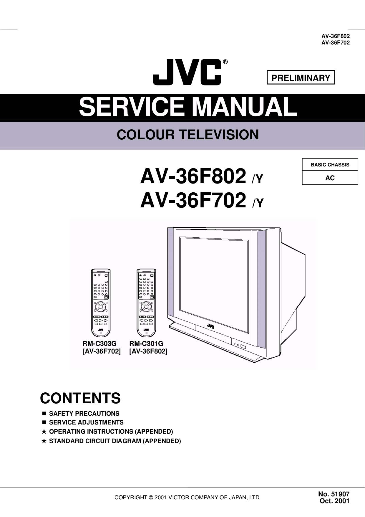 Jvc Tv Diagram Archive Of Automotive Wiring T V Circuit Download Free Pdf For Av 27f702 Manual Rh Umlib Com Crt