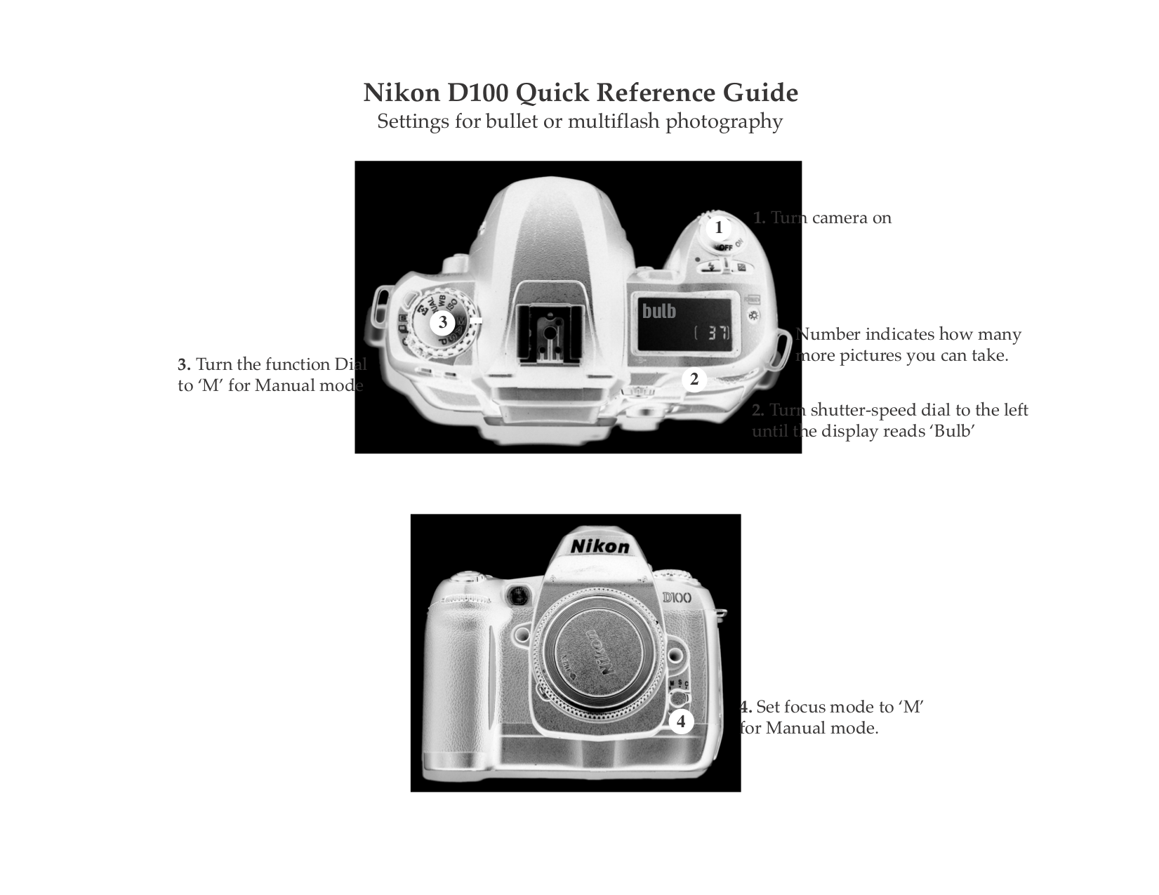 pdf for Nikon Other MB-D100 Camera Battery Pack manual