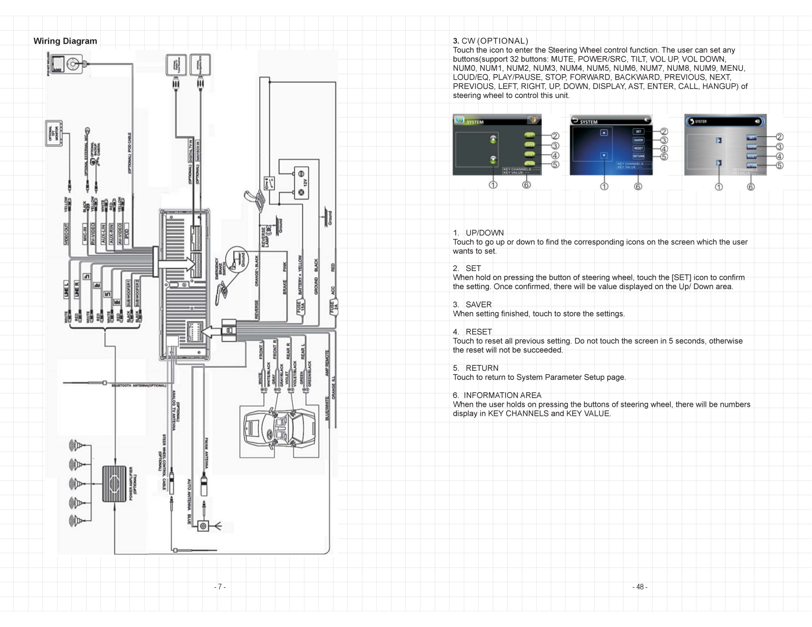 VIR 7022NR.pdf 7 pdf manual for soundstream car video vir 7022 soundstream vir-7022nr wiring harness at bakdesigns.co