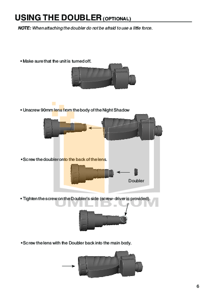 Atn Binocular Night Shadow 2 pdf page preview