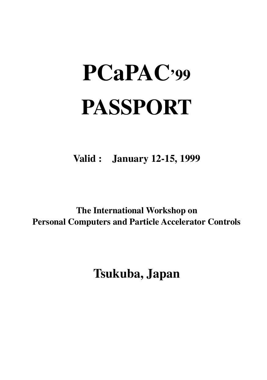 pdf for VXI Amp Passport Console-P manual