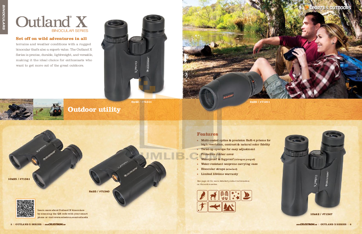 Celestron Other Ultima 100ED Spotting Scope pdf page preview