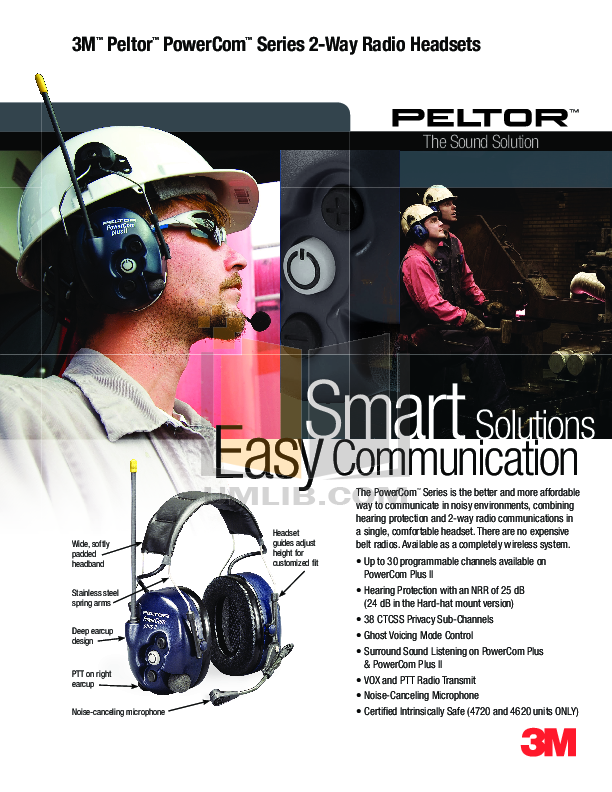 pdf for Anchor Headset MIC-25 manual