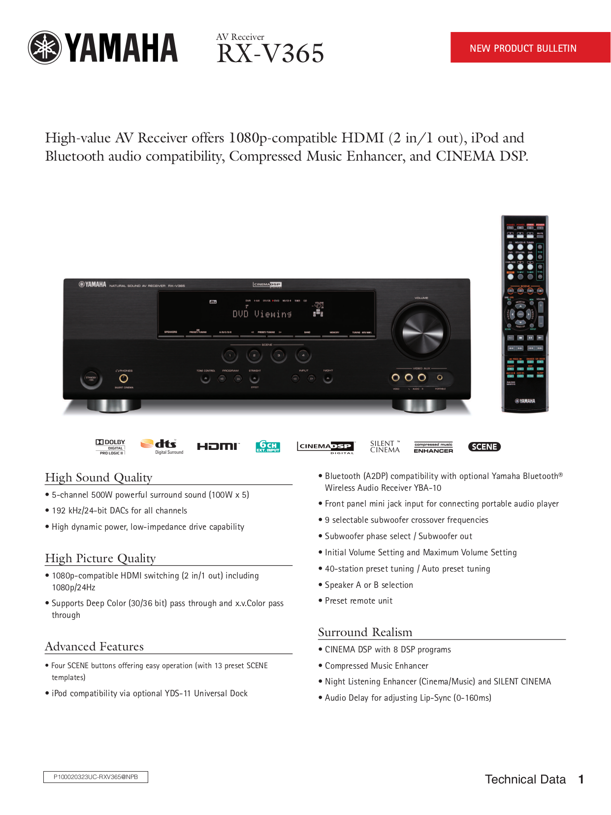 Yamaha Receiver Ip Address