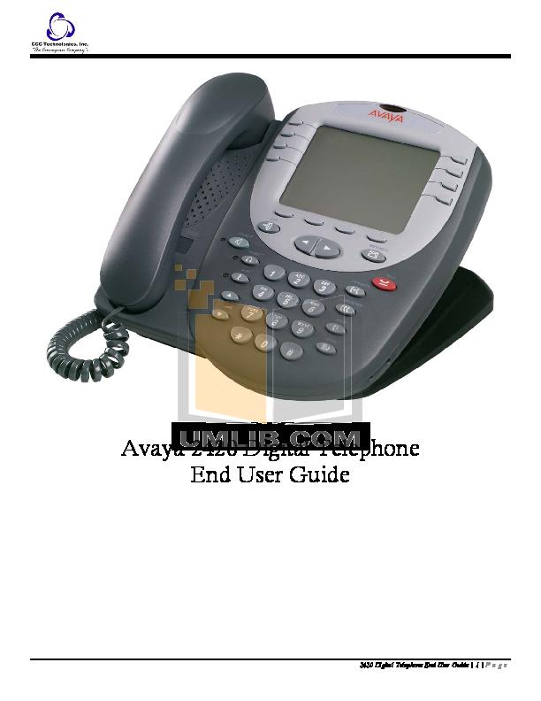 download free pdf for avaya 2420 telephone manual rh umlib com Avaya 2410 Voicemail Setup Avaya 2420 Installation Guide