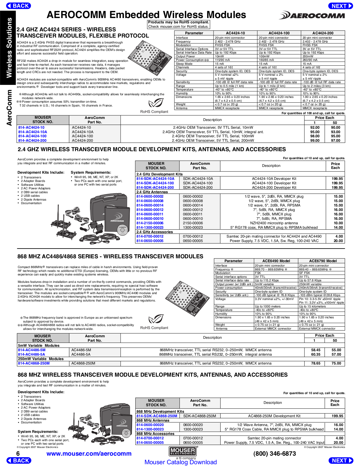 Quatech Other QSU-300-EMB Adapters pdf page preview