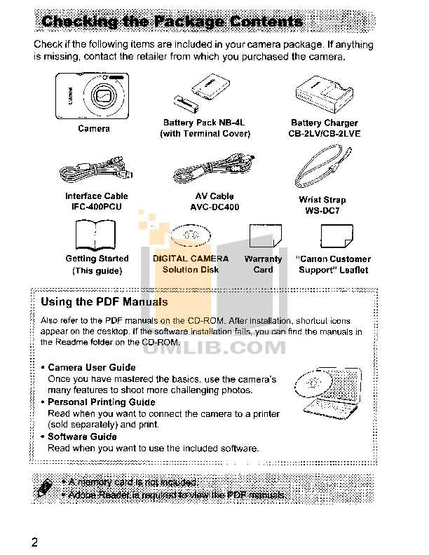 Canon SELPHY CP780 Printer User Manual Canon