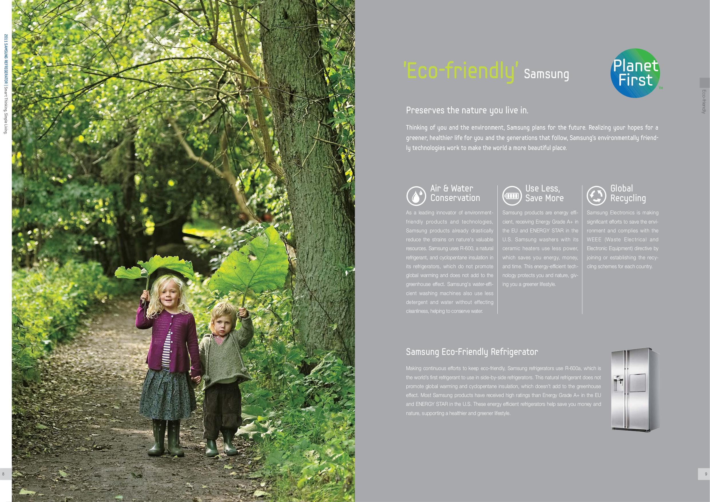 Samsung Refrigerator RF267ABPN pdf page preview