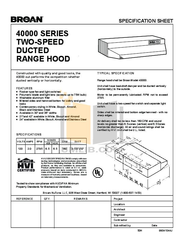 download free pdf for broan