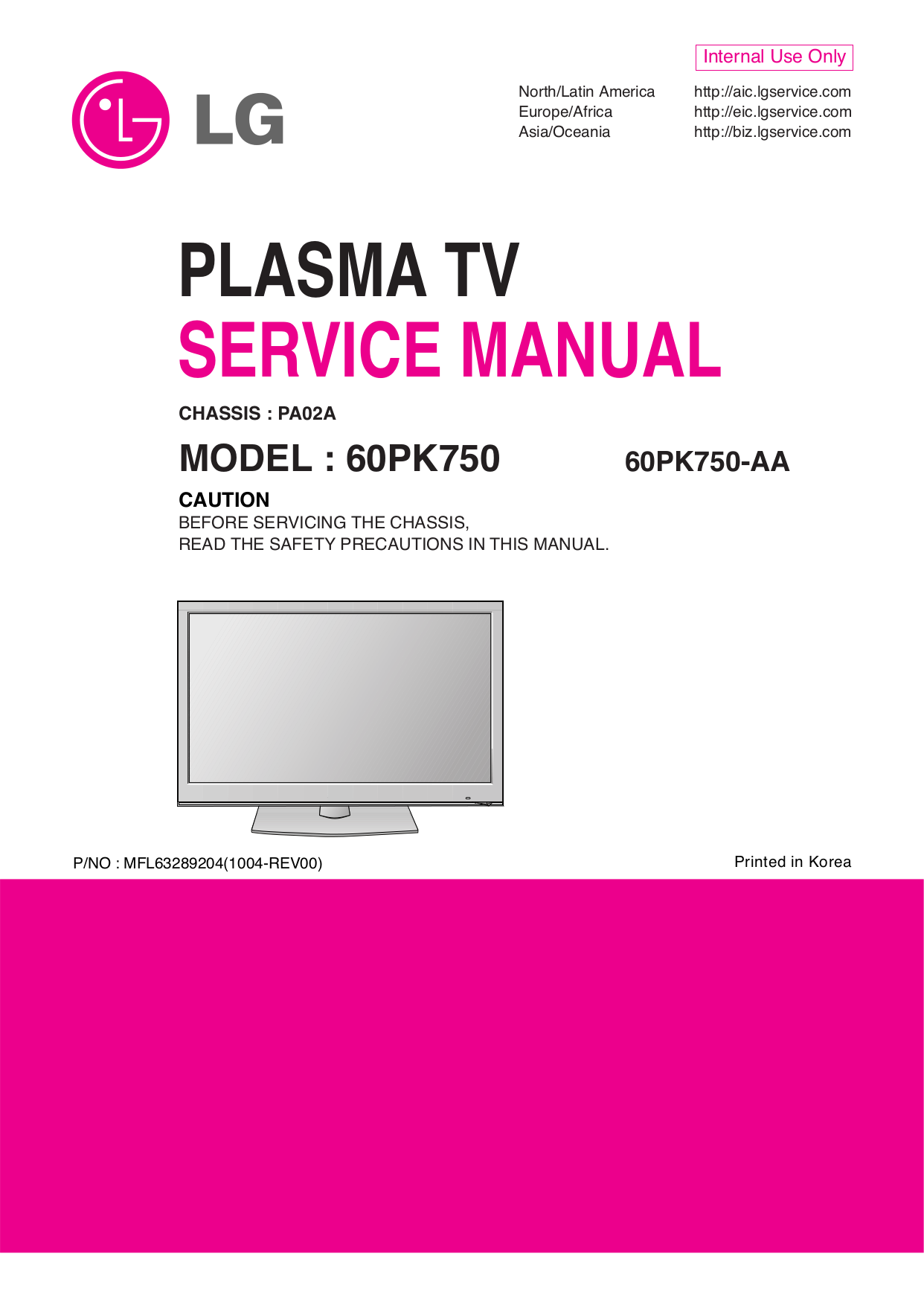 60pk750 aa chassis pa02a service manual Array - download free pdf for lg  infinia 60pk750 tv manual rh umlib com