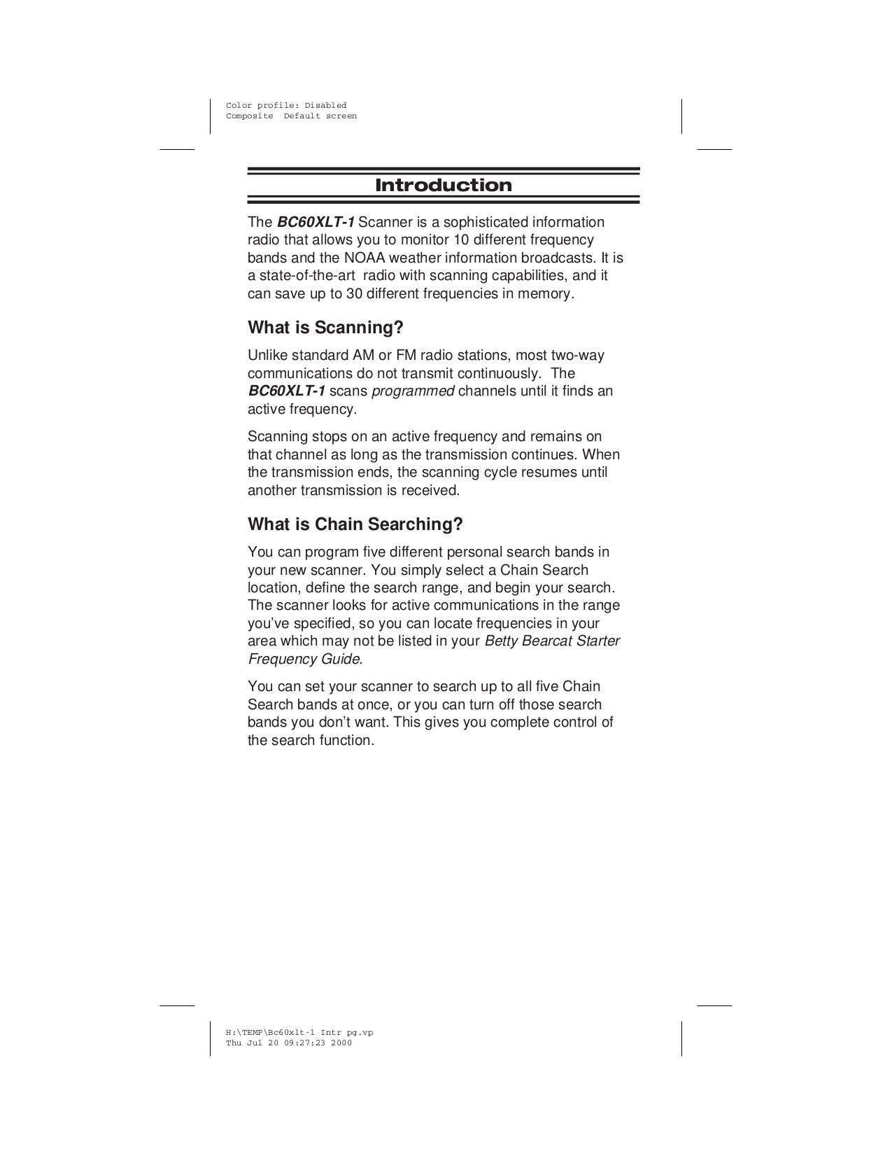 pdf manual for uniden scanner bc60xlt rh umlib com