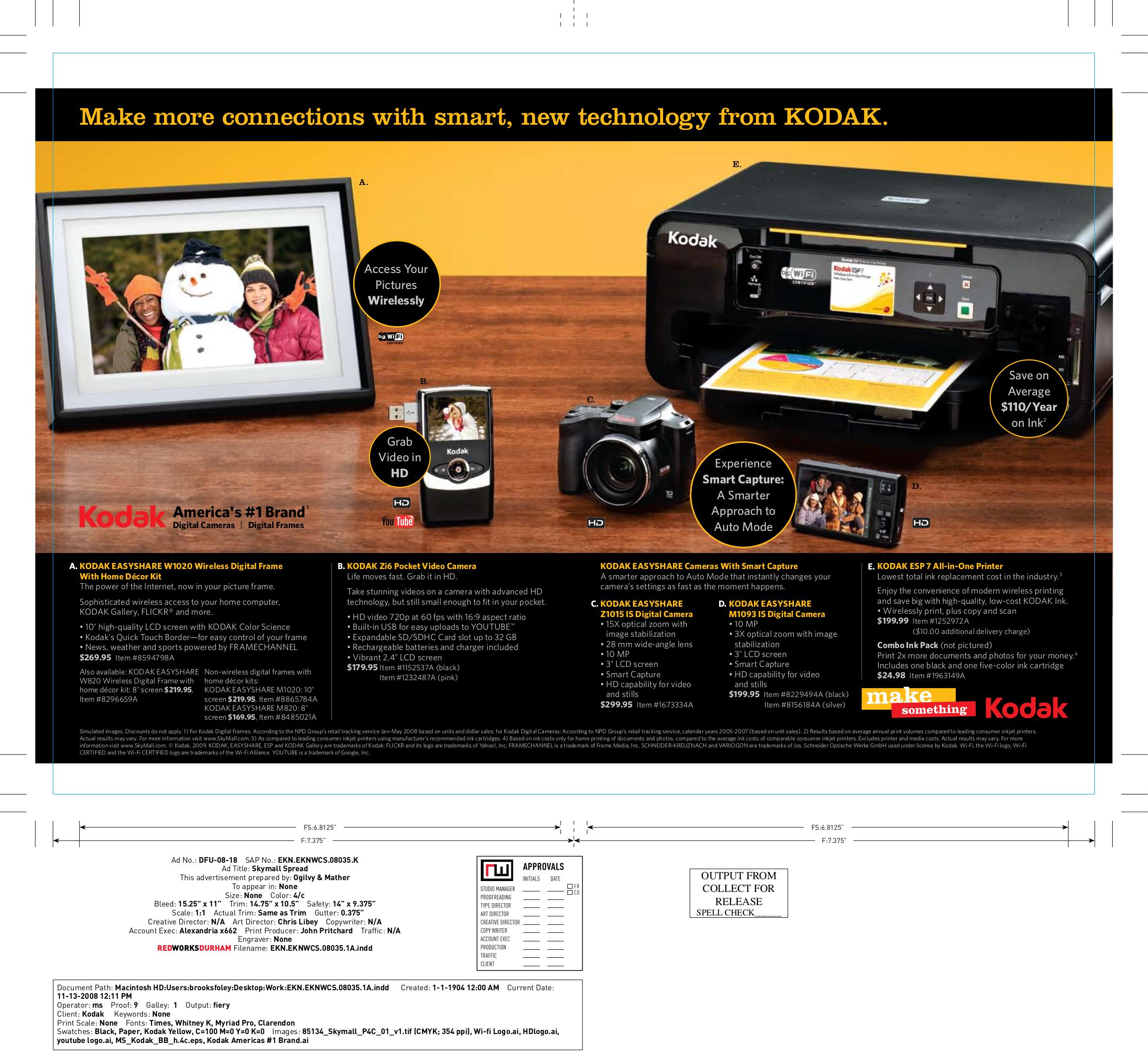 Download free pdf for Kodak EasyShare M1020 Digital Photo Frame manual