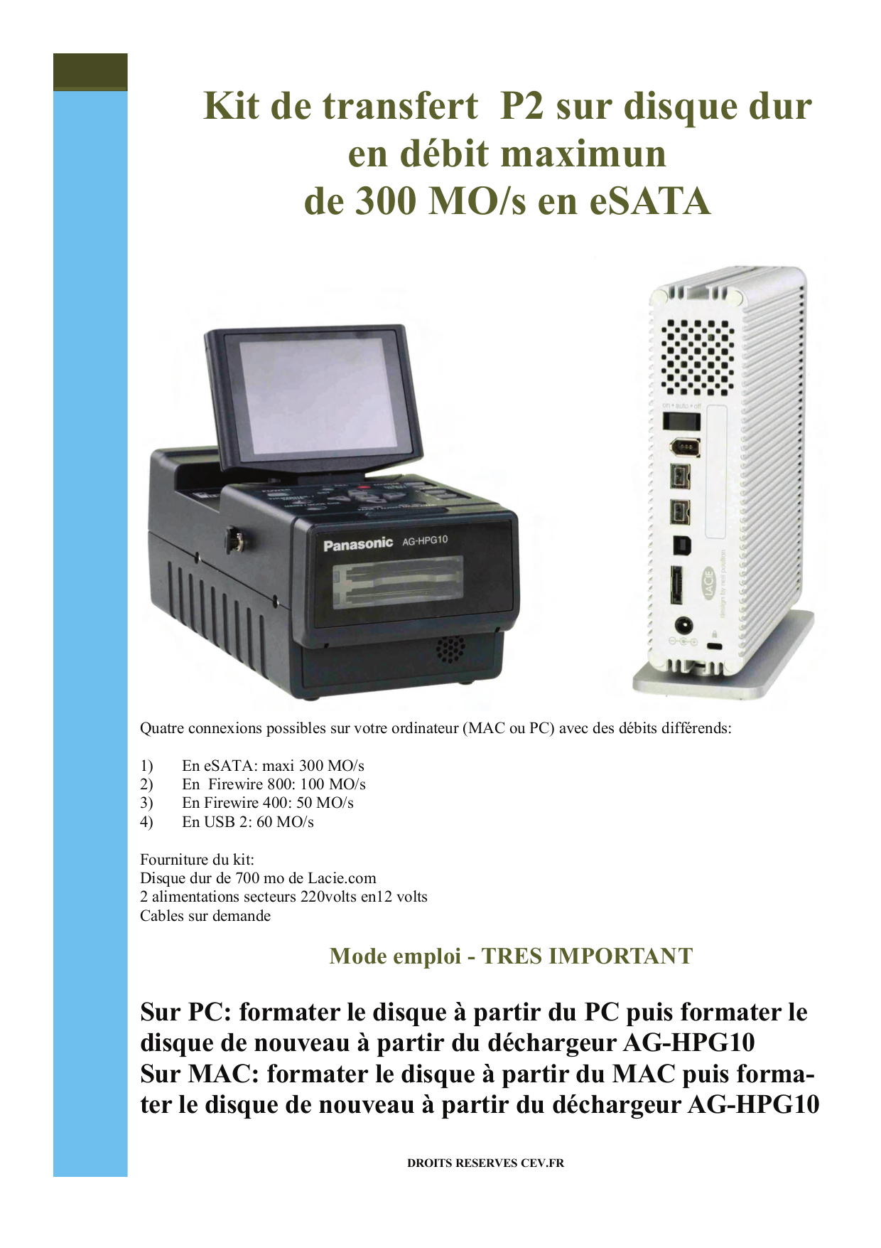 pdf for LaCie Storage 301400U manual