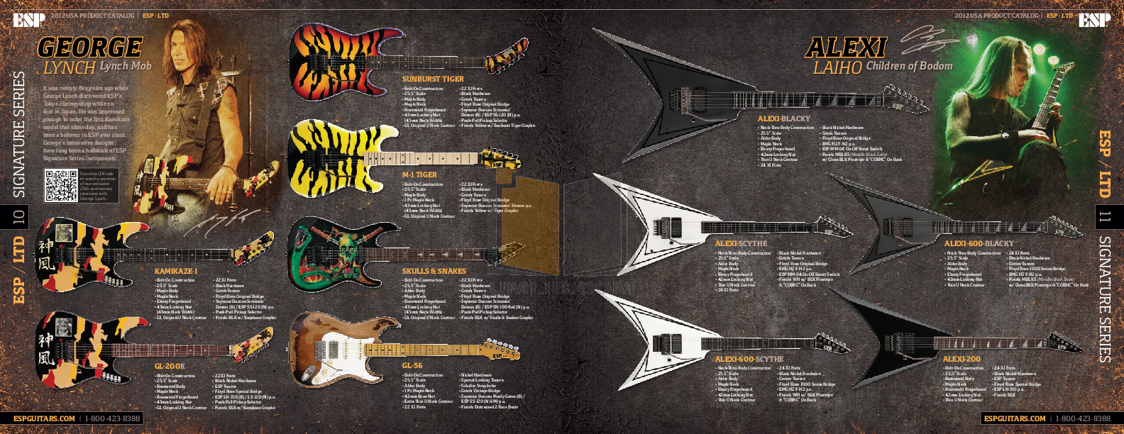ESP Guitar H-1007 pdf page preview