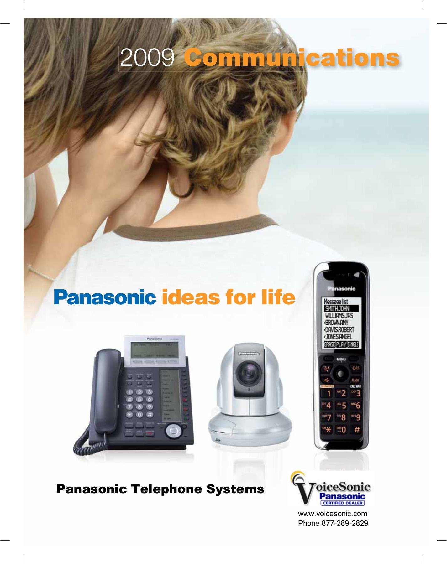 Manual telefono panasonic kx-tg3031b.