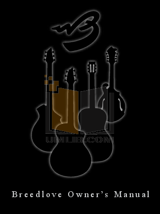 pdf for Breedlove Guitar Master Class Ed Gerhard Signature manual