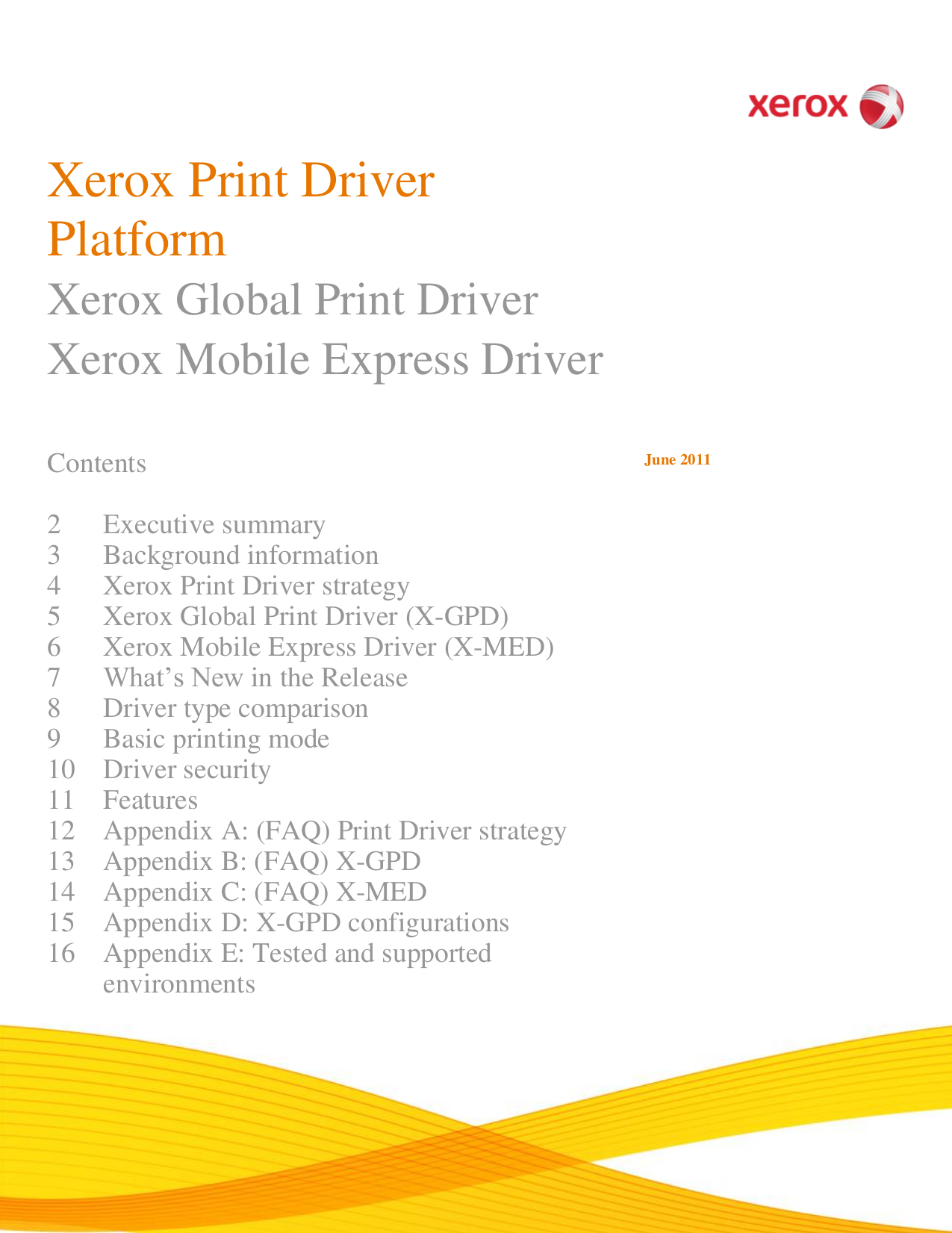 pdf for Xerox Printer Phaser 6120 manual