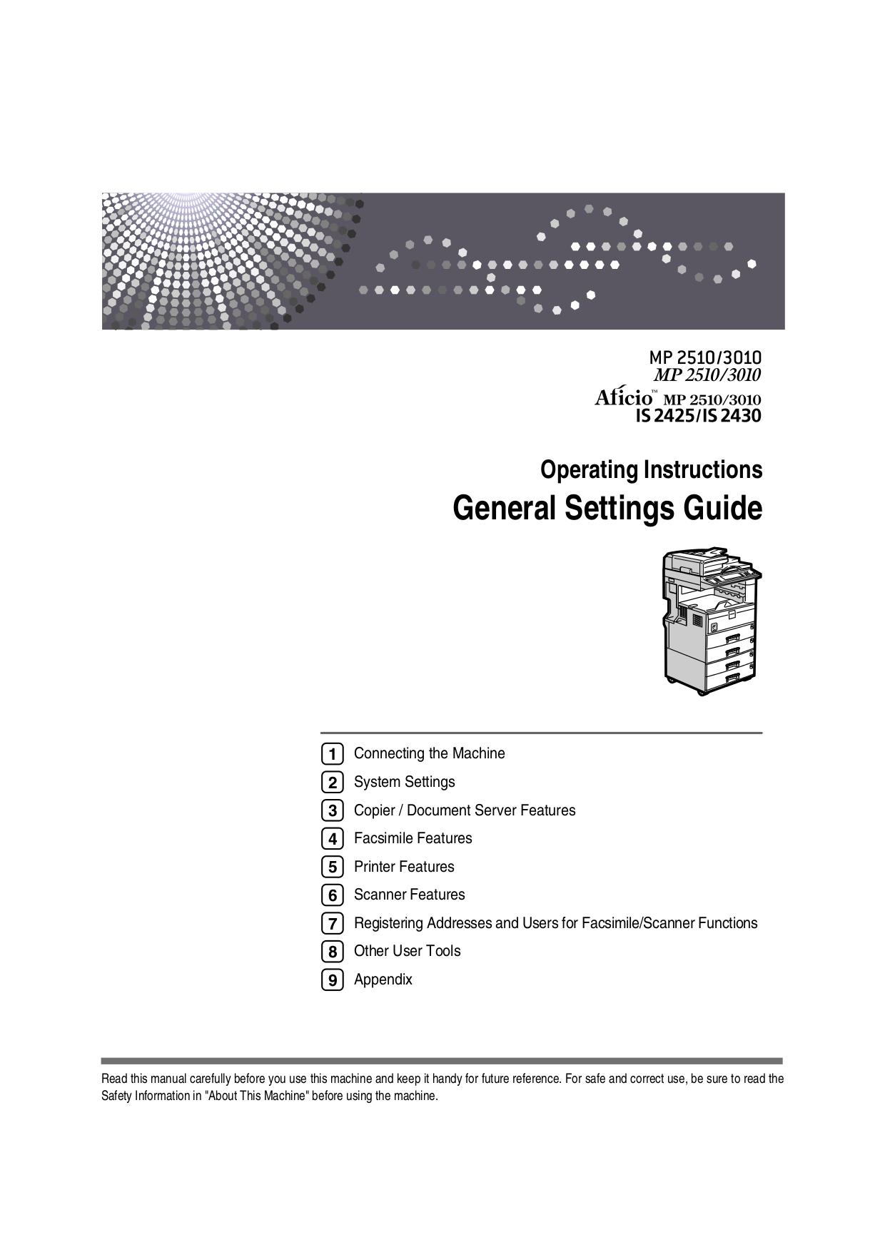 Ricoh Aficio 2045e User Manual Garage Door Opener Circuit Design Tom39s Maker Site Array Download Free Pdf For Copier Rh Umlib Com