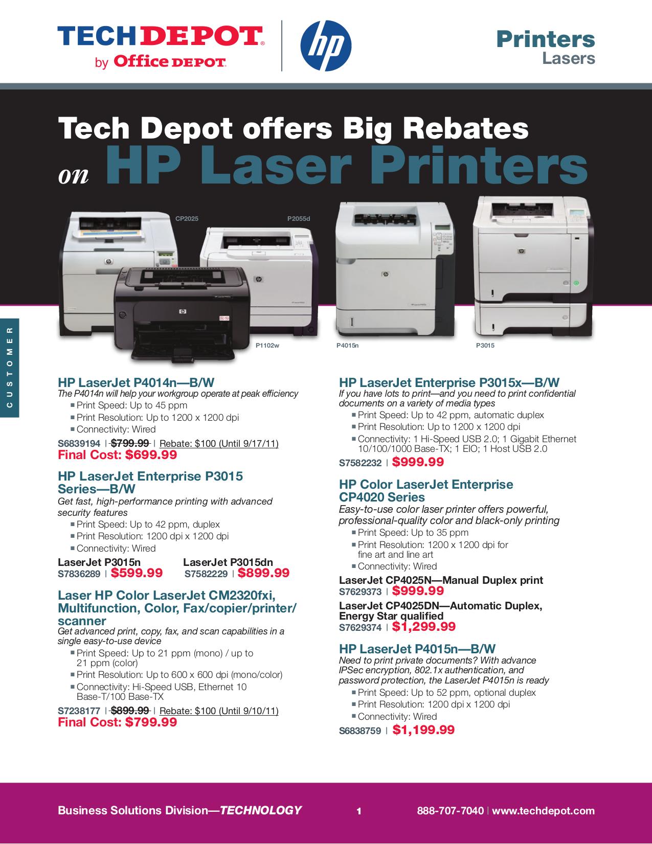 pdf for HP Printer Laserjet,Color Laserjet CP2025dn manual