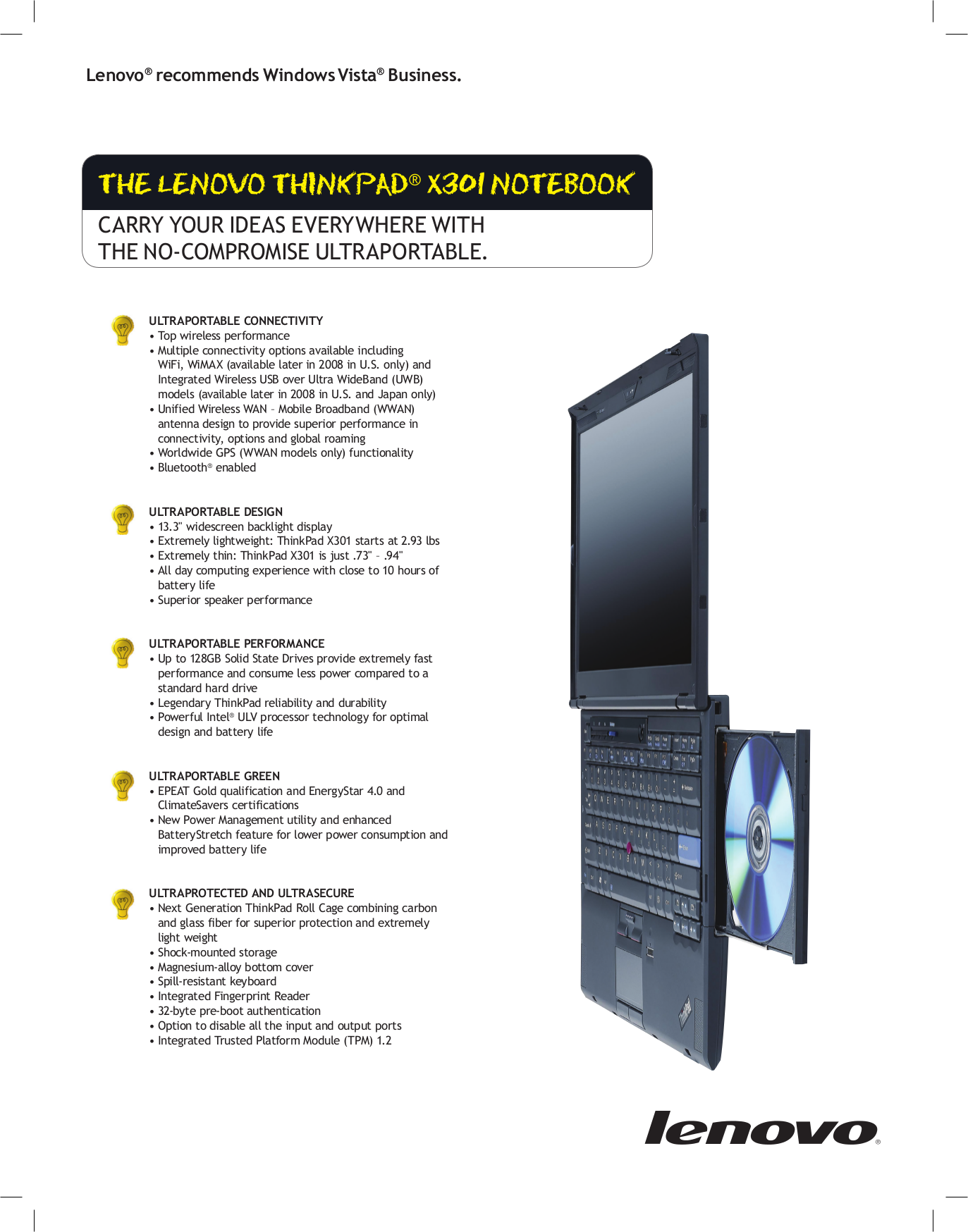 pdf manual for lenovo laptop thinkpad x301 2774