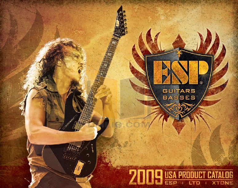 pdf for ESP Guitar STEF-B8 manual