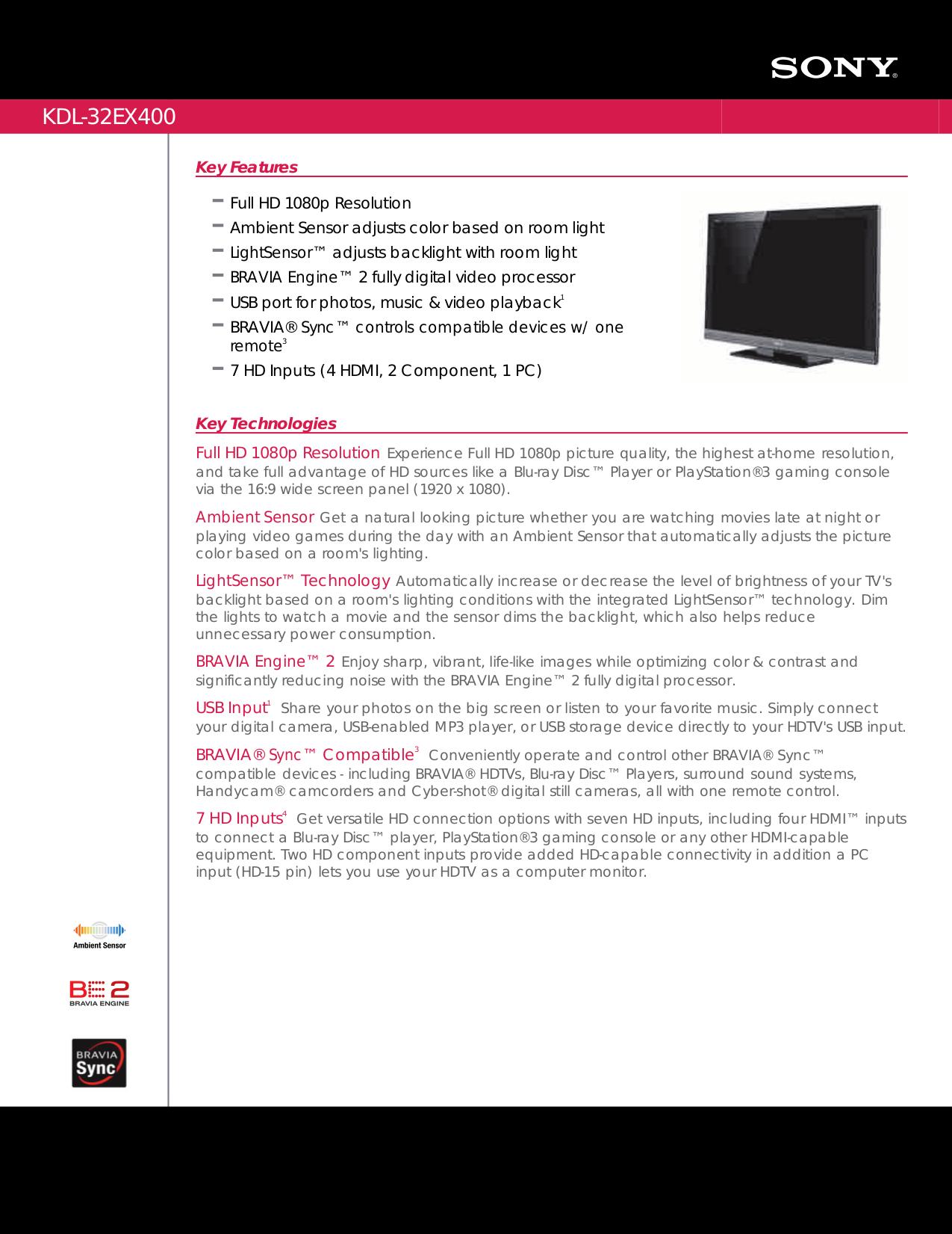 download free pdf for sony bravia kdl 32ex400 tv manual rh umlib com sony kdl-32ex400 manual pdf sony kdl 32ex400 service manual