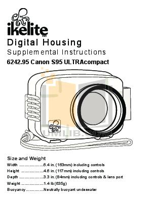 pdf for Canon Digital Camera Powershot S90 manual