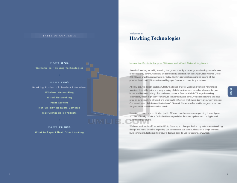 Hawking Router HAR14A pdf page preview