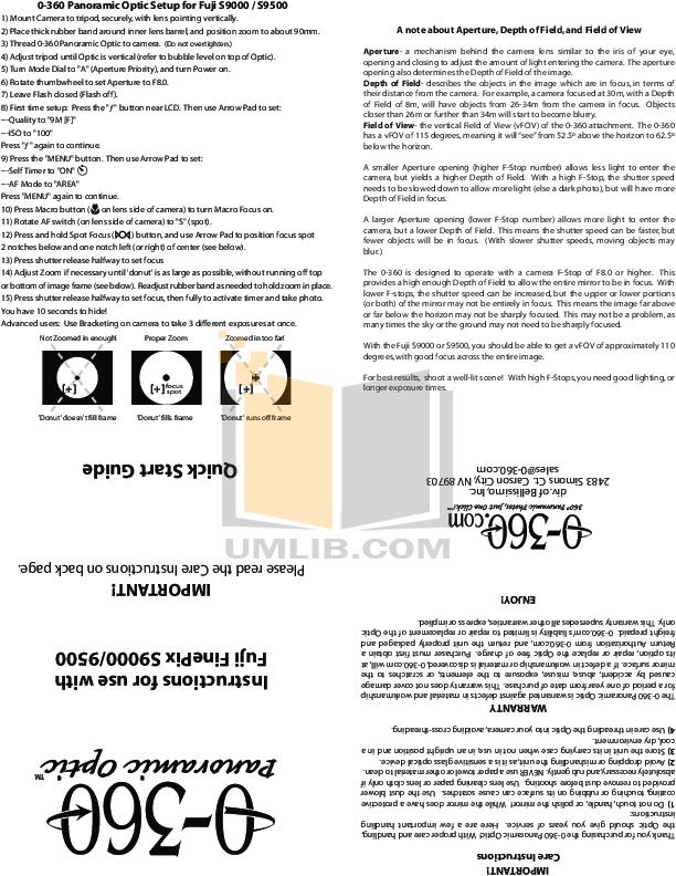 Download free pdf for FujiFilm Finepix S9000 Digital Camera manual