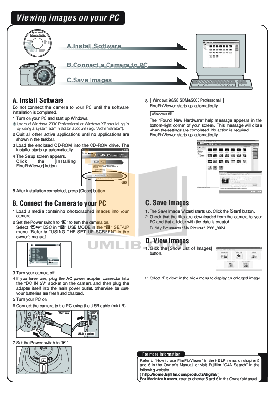 PDF manual for FujiFilm Digital Camera Finepix S9000