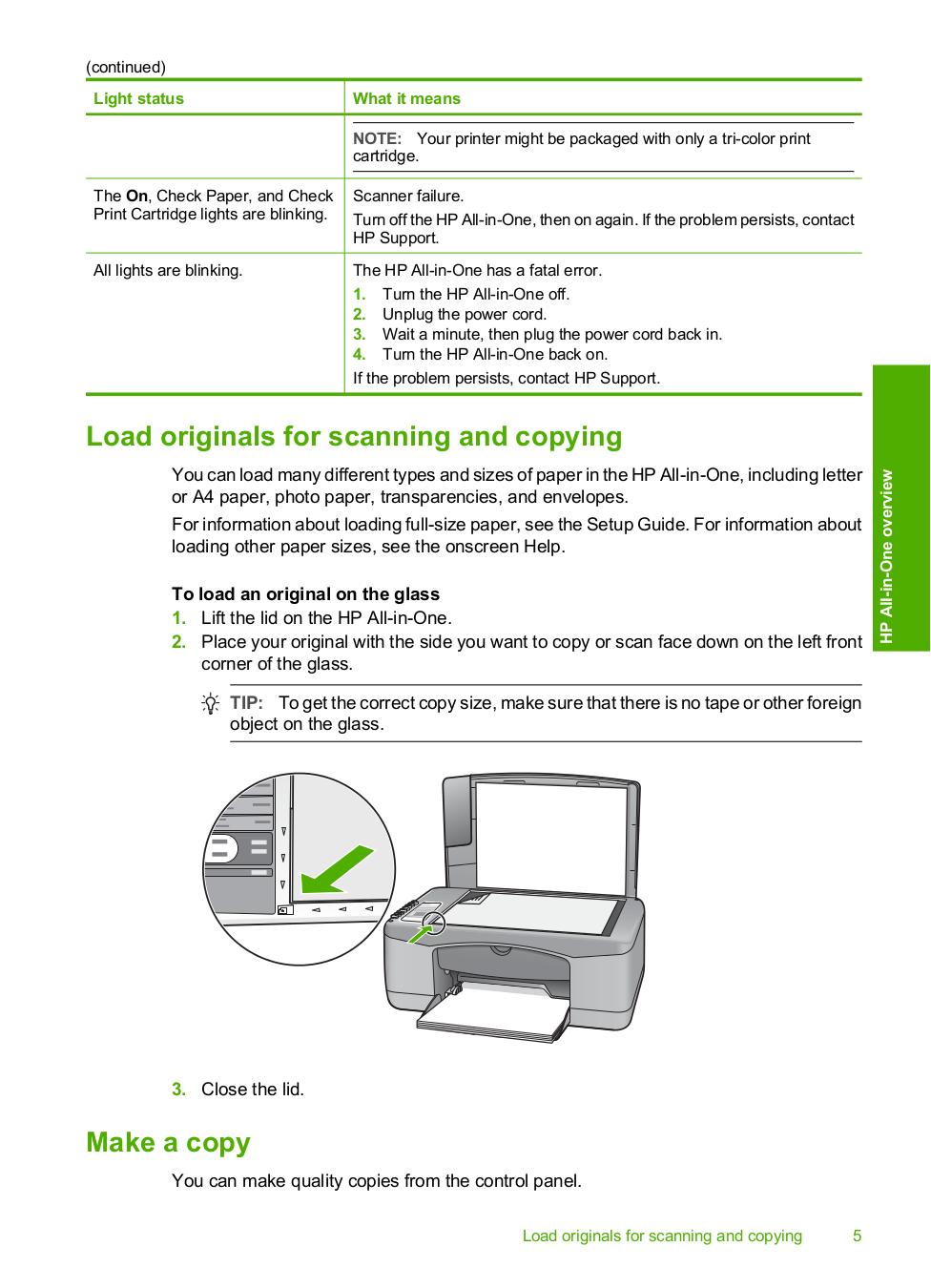 ... HP Multifunction Printer Deskjet F2180 pdf page preview ...