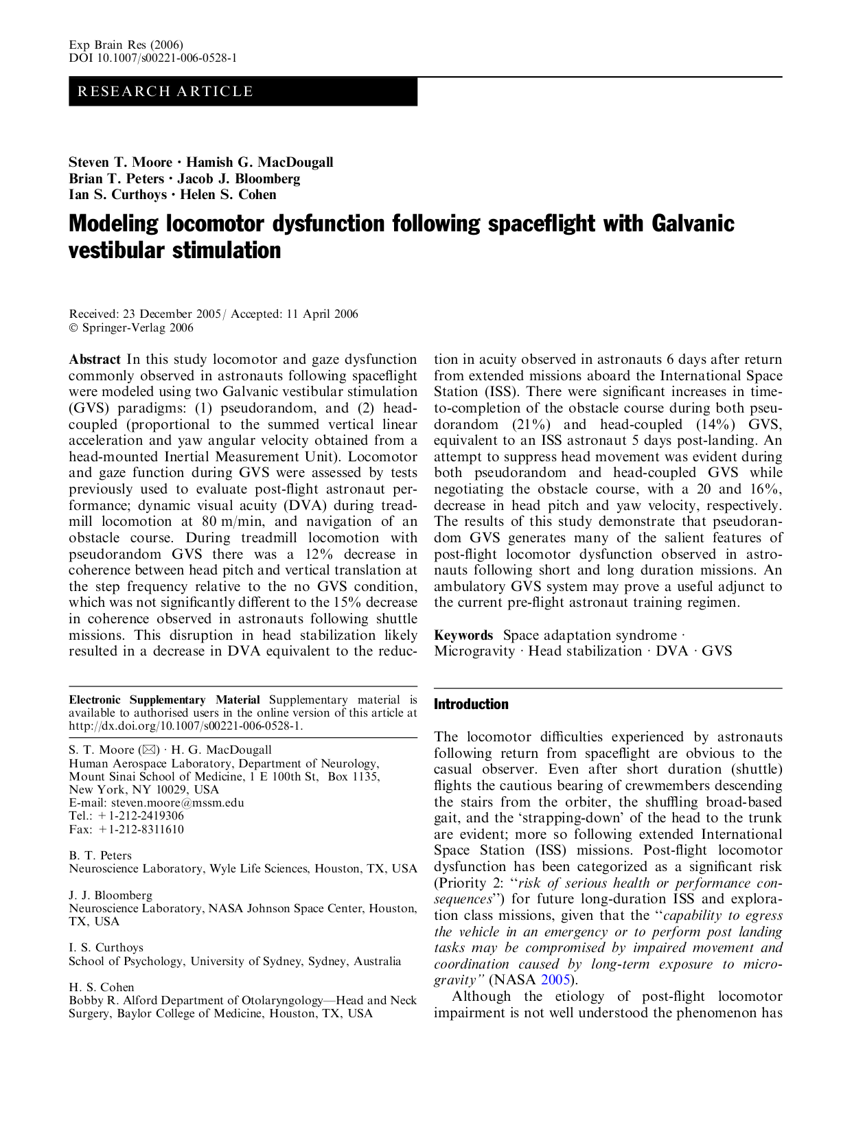 Effects of Caloric and Galvanic Vestibular Stimulation on Reduced Awareness