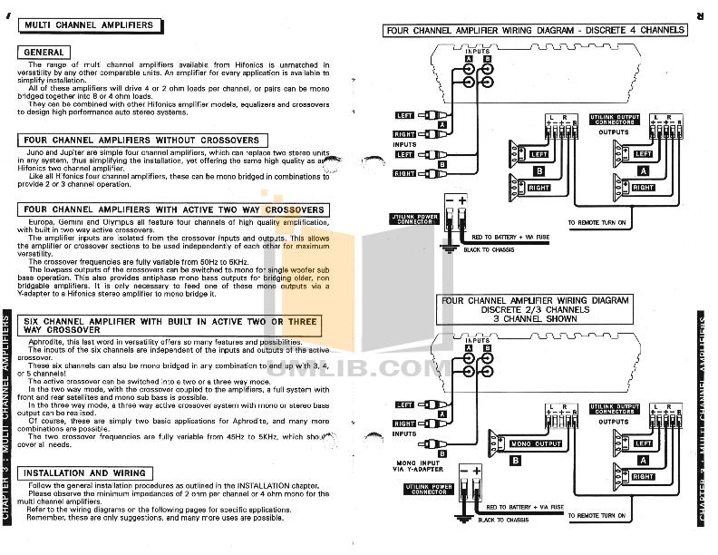 pdf manual for hifonics amp series viii pluto hifonics amp series viii pluto pdf page preview
