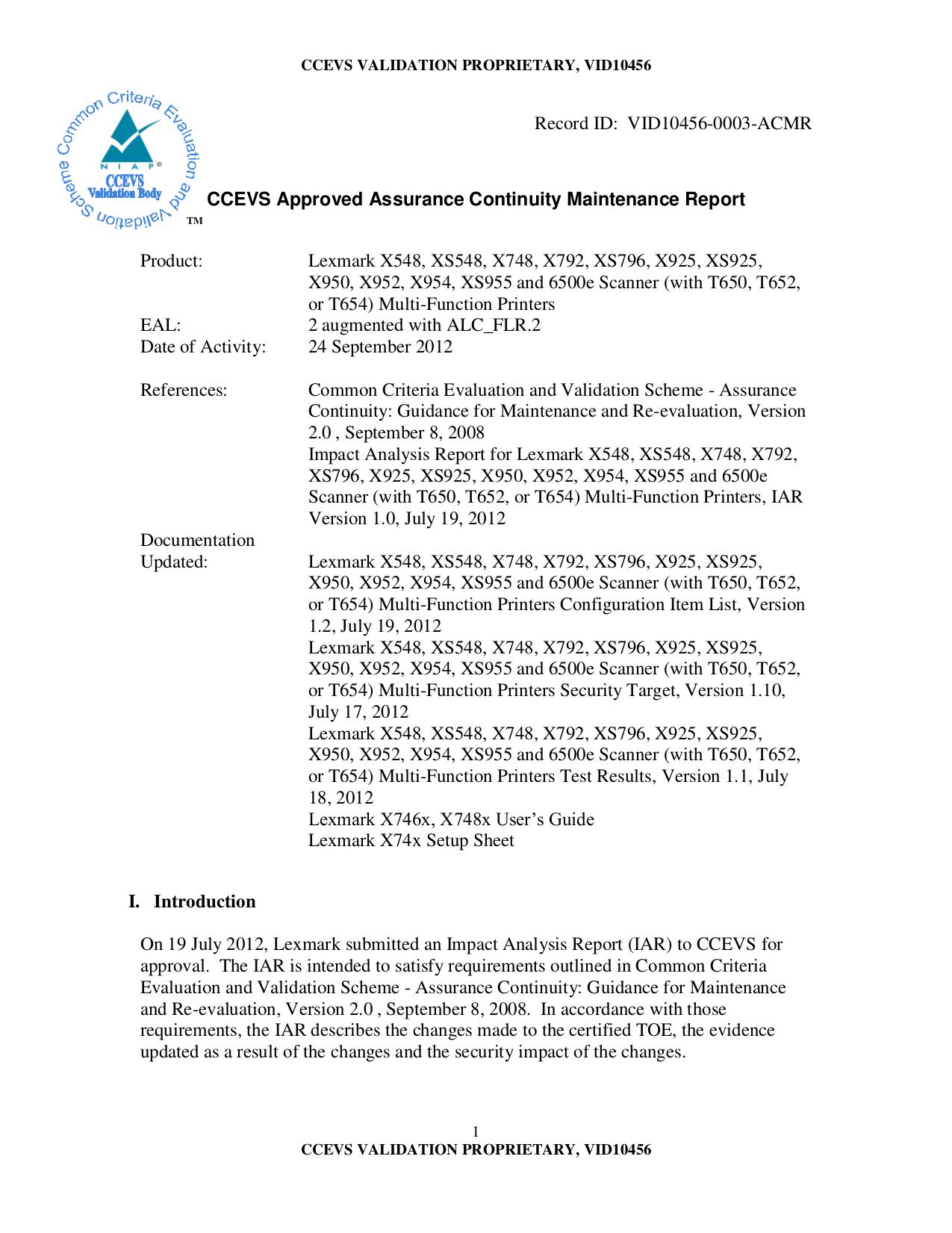 pdf for Lexmark Printer T652n manual