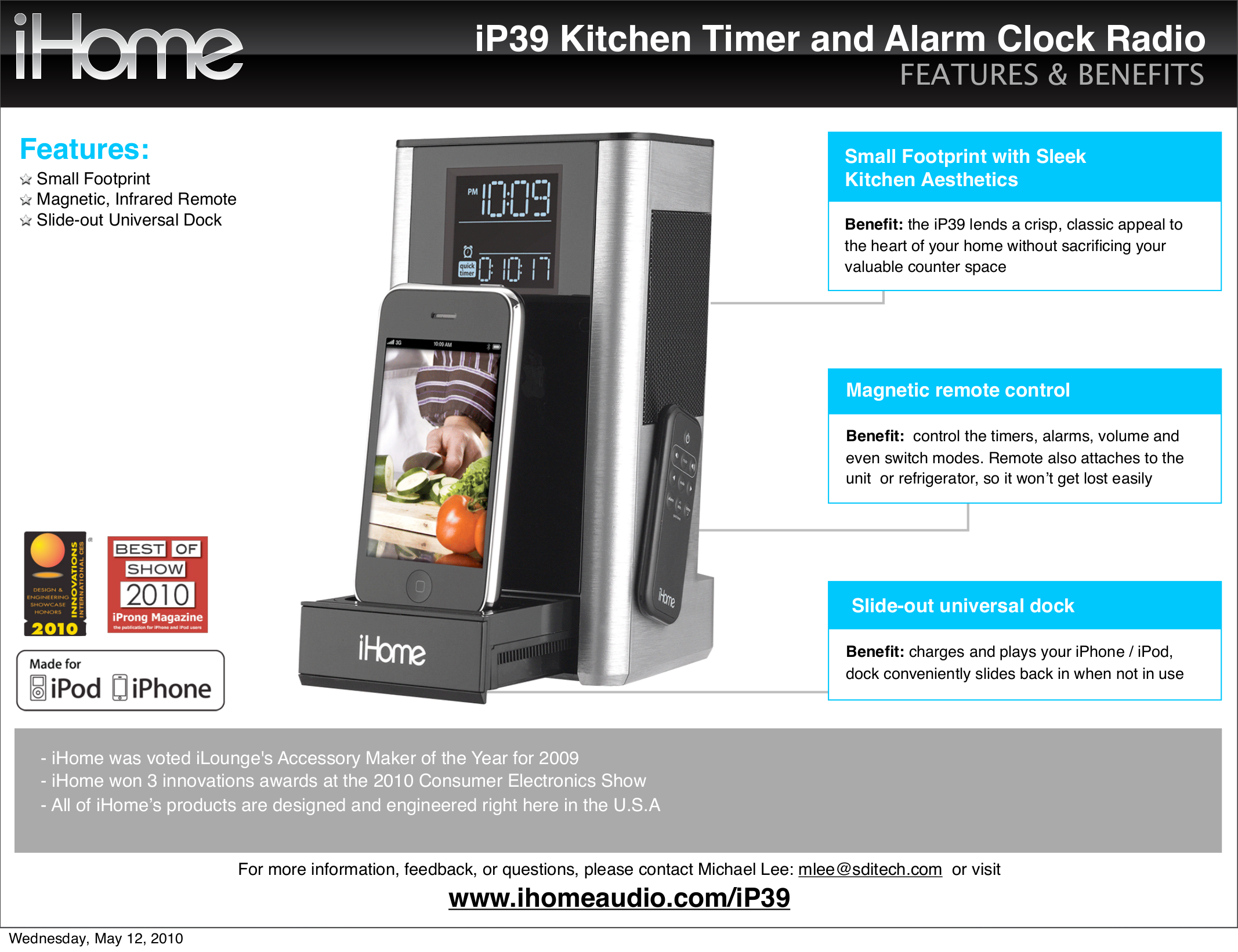 ihome ip9 manual user guide manual that easy to read u2022 rh sibere co