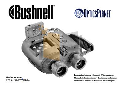 pdf for Bushnell Binocular 18-0832 manual