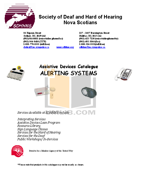 pdf for Ameriphone Telephone HA-30 manual