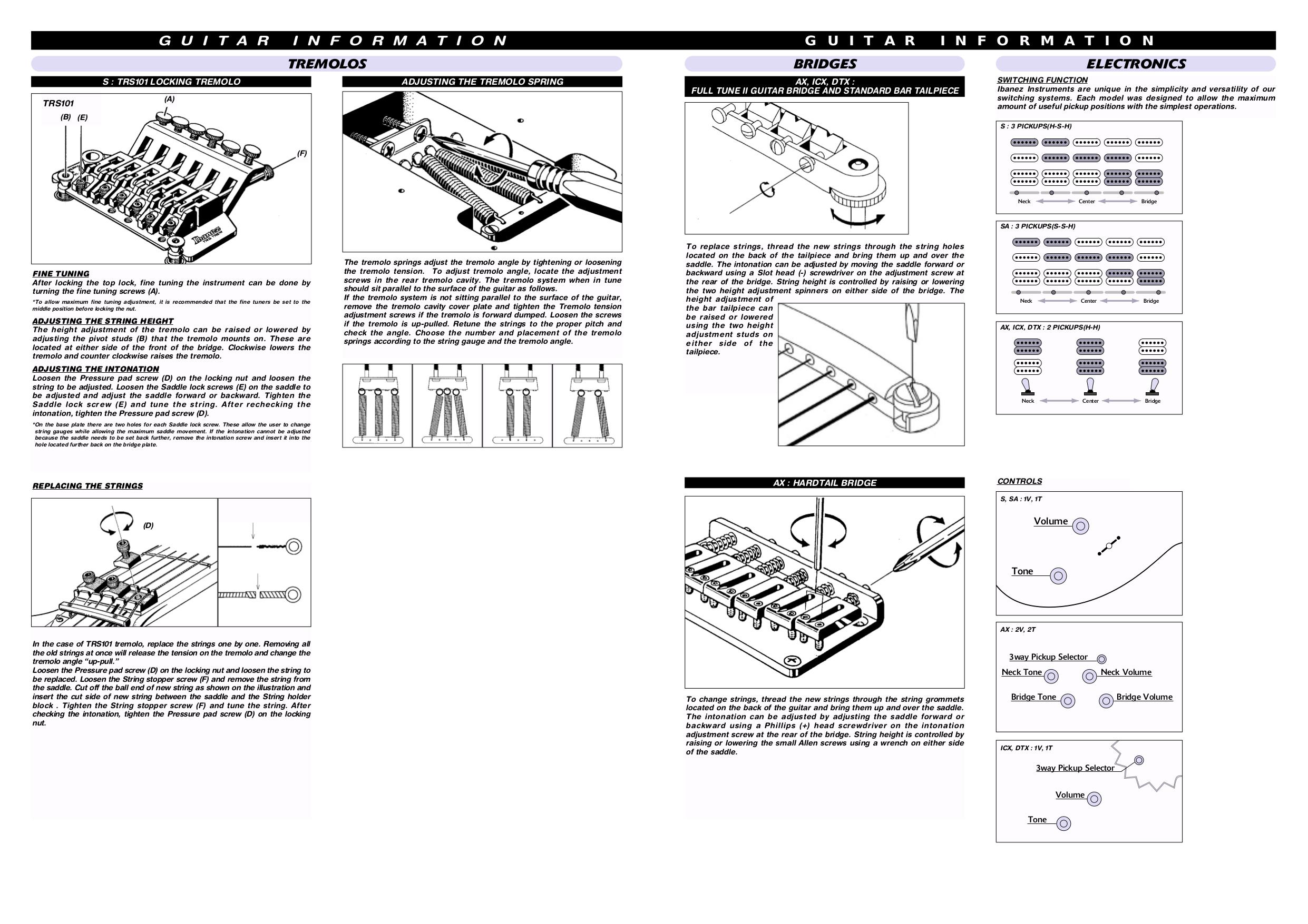 pdf manual for ibanez guitar sr series sr505