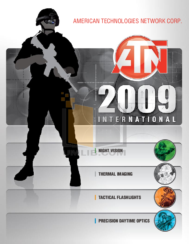 pdf for Atn Binocular NVB10X-CGT manual