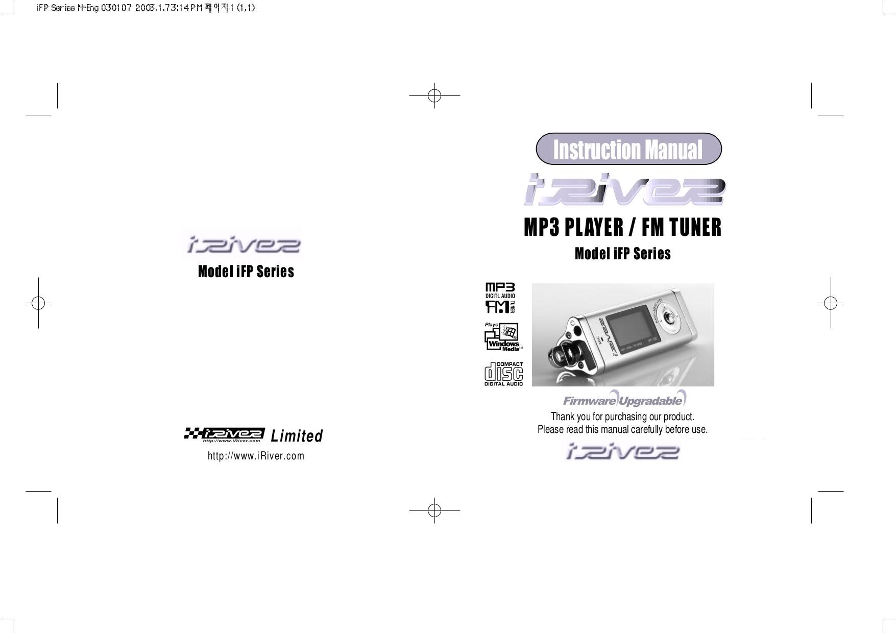 Iriver mp3 player