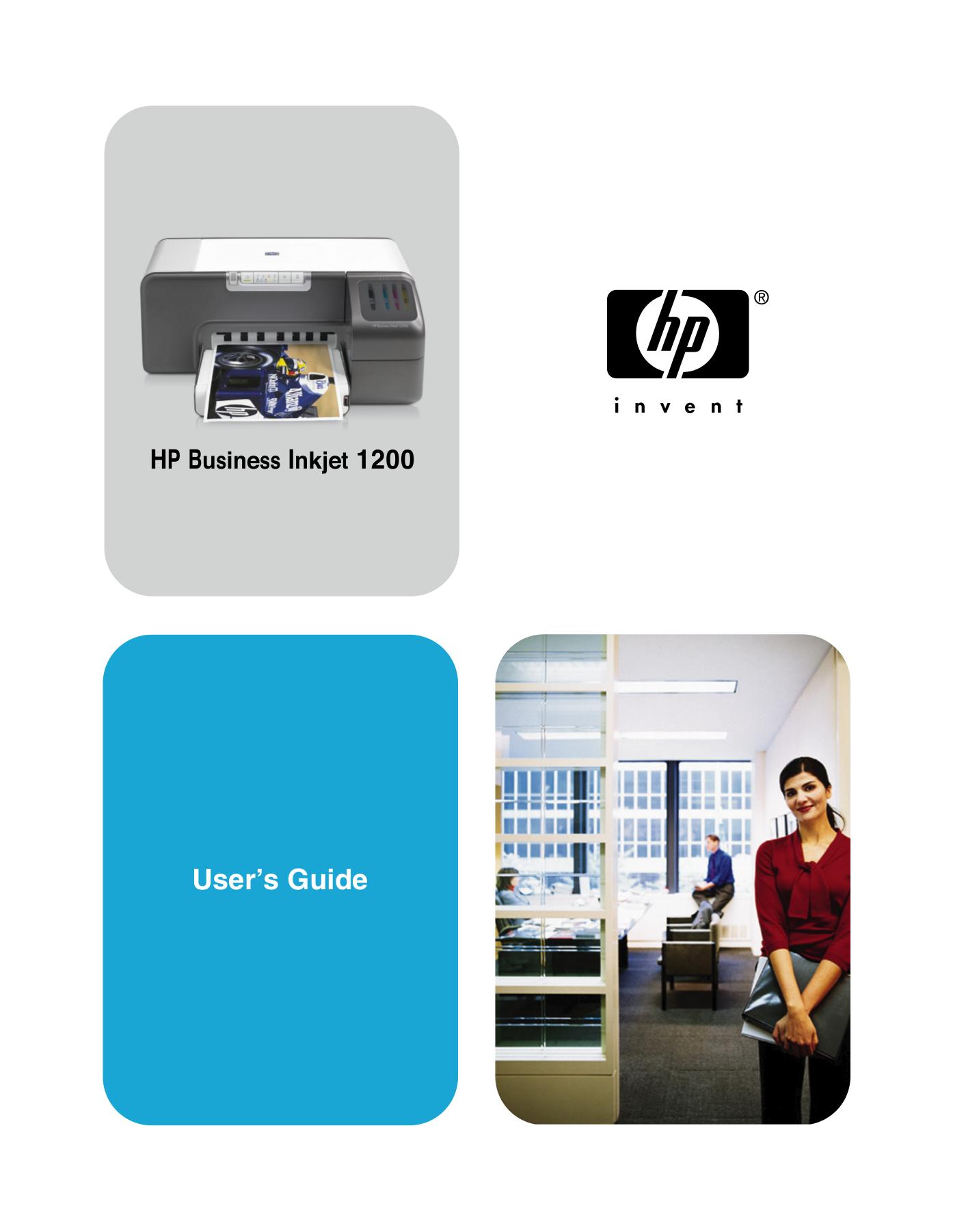 Download Free Pdf For Hp Business Inkjet 1200 Printer Manual